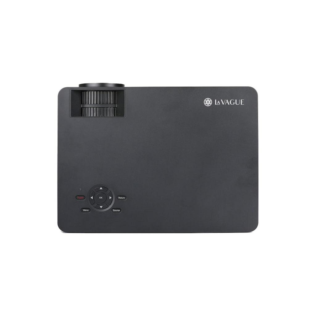 LA VAGUE LED-Beamer »LV-HD400«, (1000:1), Full HD, ideal zum Streamen von Netflix