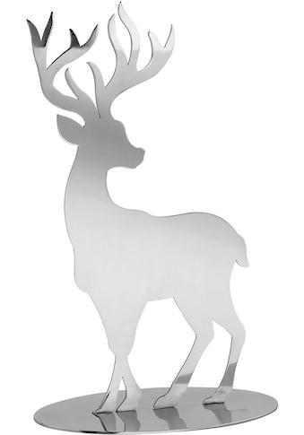 Fink Tierfigur »Hirsch JASPER«, aus Edelstahl kaufen