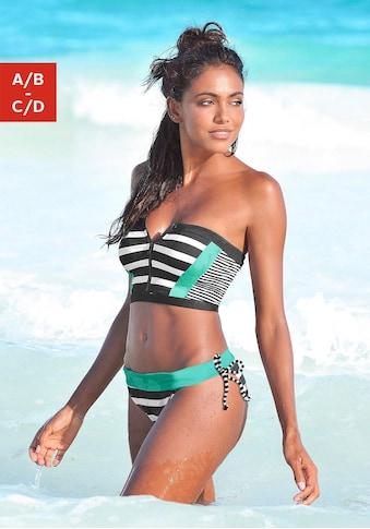 KangaROOS Bustier-Bikini-Top »Anita«, mit Reißverschluss kaufen