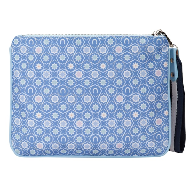 Codello Canvas-Clutch mit CODELLO Logo-Print