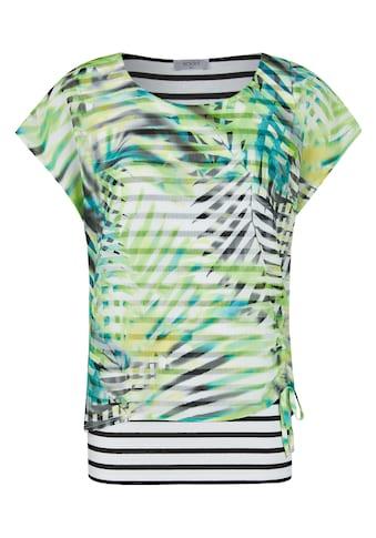 Seidel Moden Printshirt mit gestreiftem Unterteil kaufen