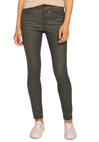 TOM TAILOR Denim Skinny-fit-Jeans »Nela«, in leicht glänzender Optik kaufen