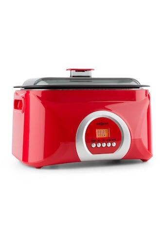 ONECONCEPT Sous-vide Garer Schongarer 5l 300 W rot »Sanssouci« kaufen