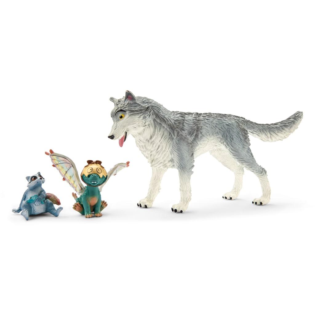 Schleich® Spielfigur »bayala MOVIE, Lykos, Nugur & Piuh (70710)«