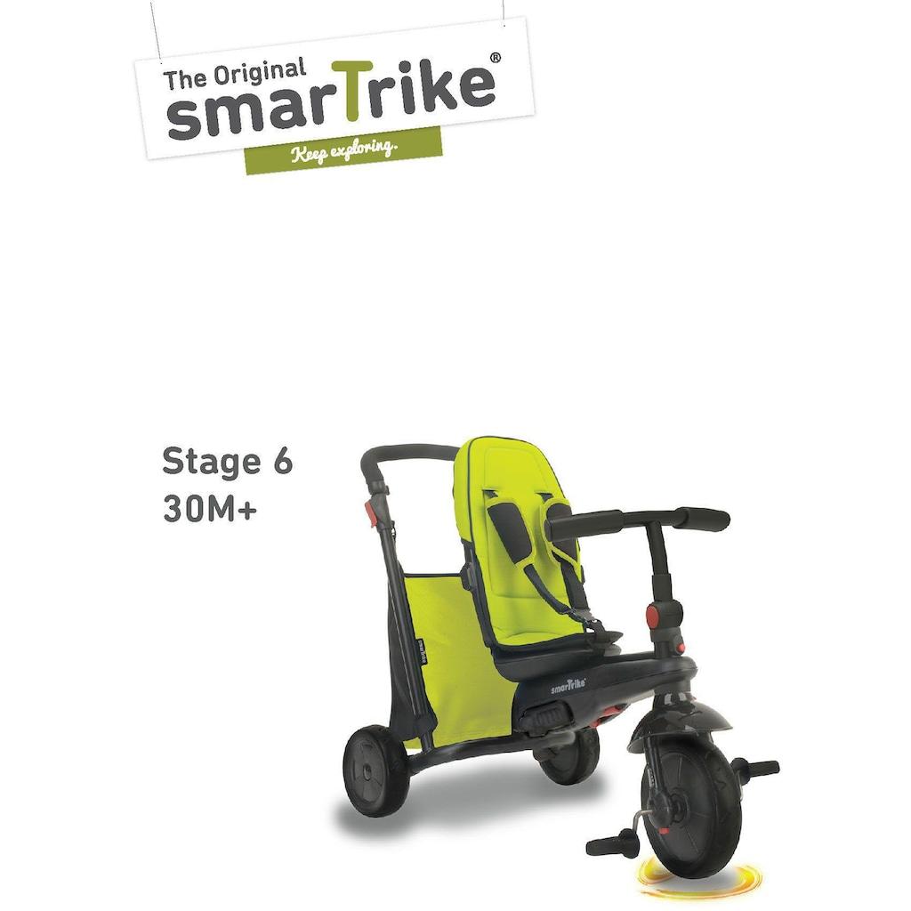 smarTrike® Dreirad »Folding Trike 500 grün«, mit verstellbarem Sonnenschutzdach