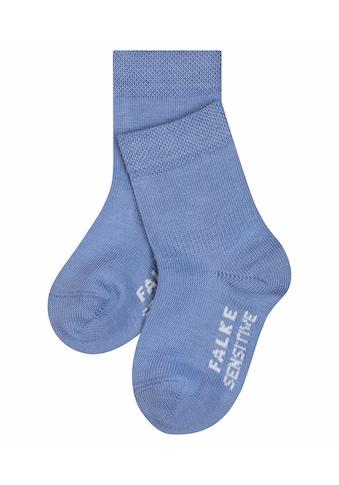 FALKE Socken »Sensitive«, (1 Paar), mit extra weichem Bündchen kaufen