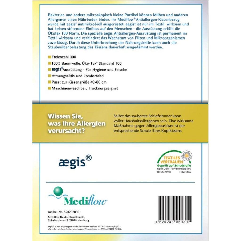 Mediflow Wasserkissen »5035«, Bezug: 100% Baumwolle, (1 St.)