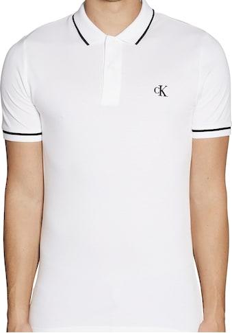 Calvin Klein Jeans Poloshirt »TIPPING SLIM POLO« kaufen
