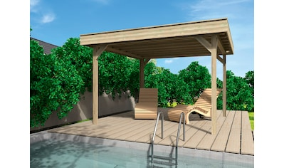 Wolff Holzpavillon »Elba«, BxT: 350x352 cm, Grundbauset kaufen
