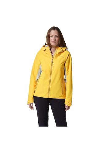 Craghoppers Softshelljacke »Damen Outdoor-Jacke Horizon mit Kapuze« kaufen