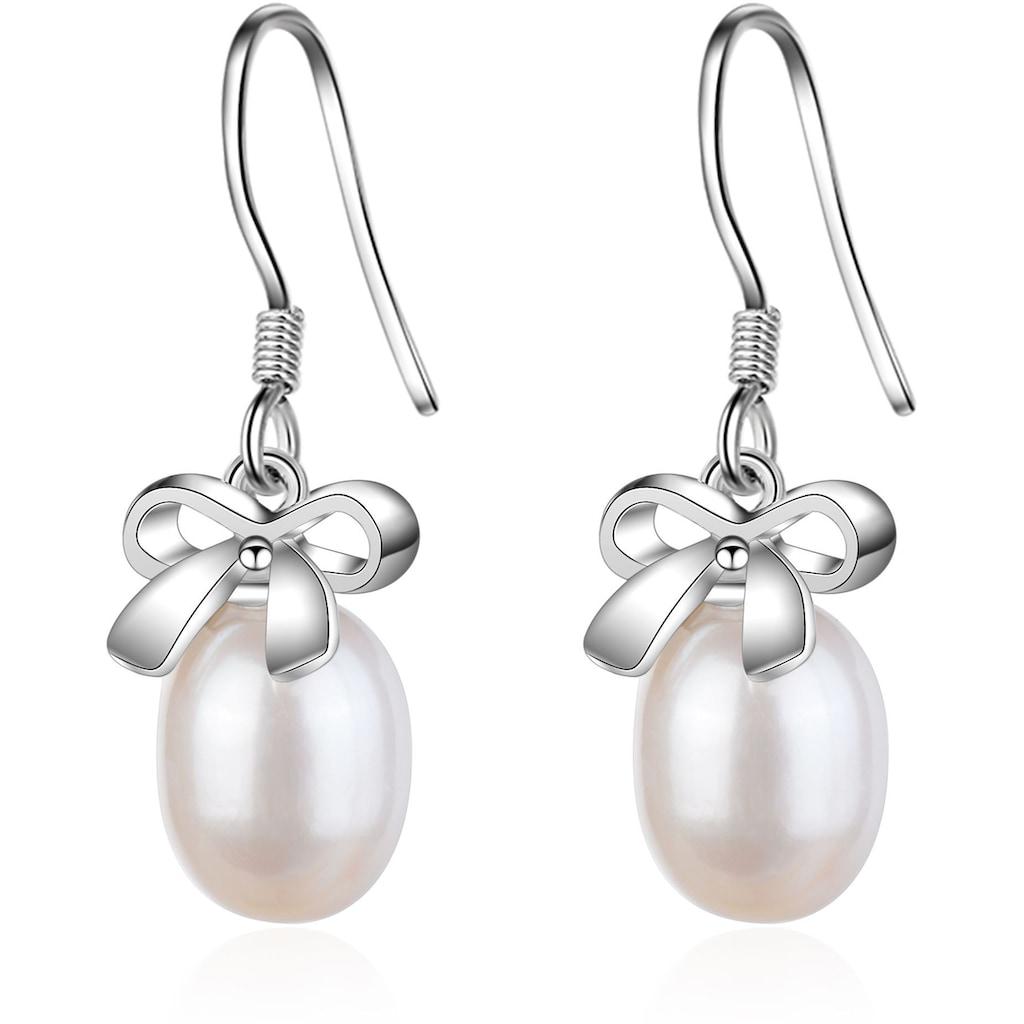 AILORIA Paar Ohrhänger »MIYABI Ohrringe«, mit Süßwasserzuchtperlen
