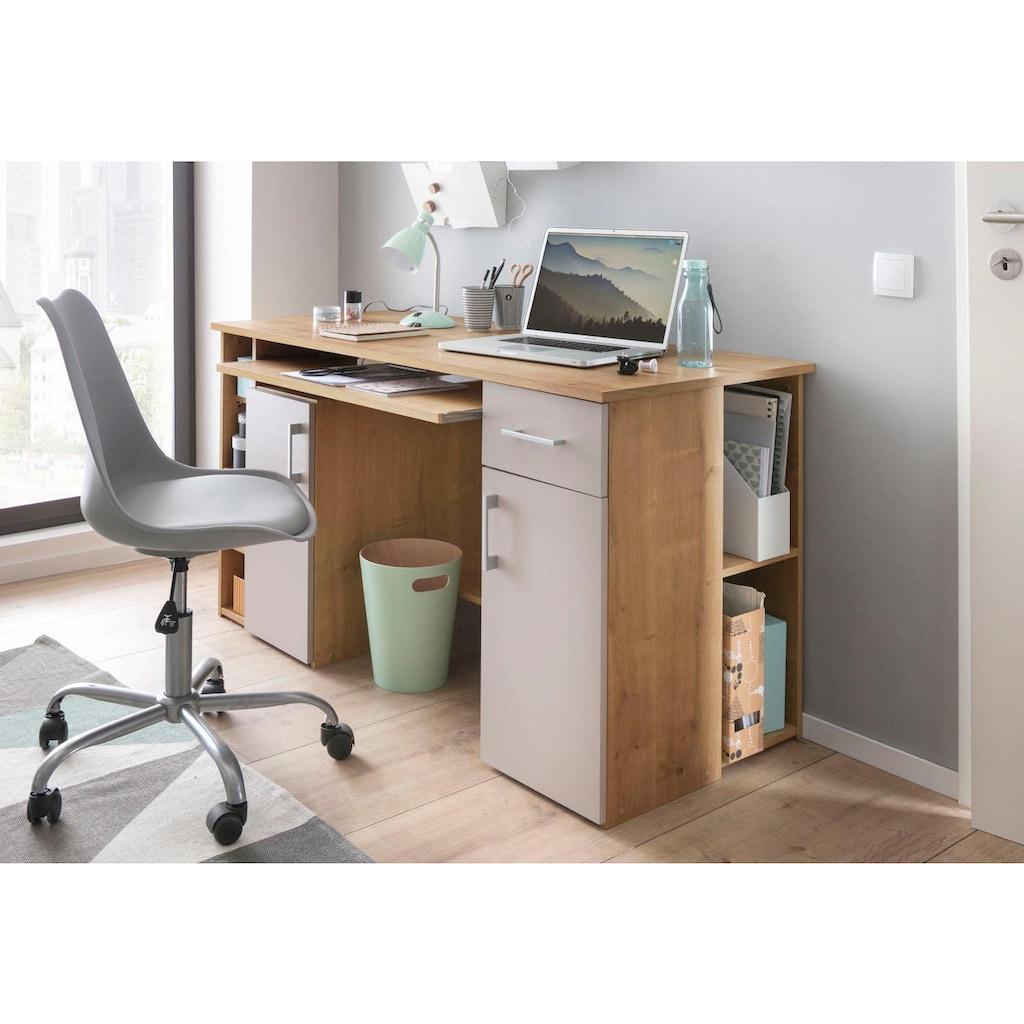 Schreibtisch »Tim«, mit 5 Fächern und Tastaturauszug