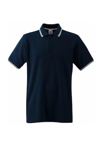 Fruit of the Loom Poloshirt »Tipped Herren Polo-Shirt, Kurzarm« kaufen