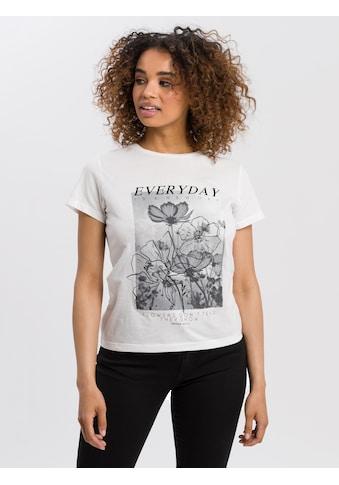 Cross Jeans® T-Shirt »55786«, Kontrastfarbene Streifen kaufen