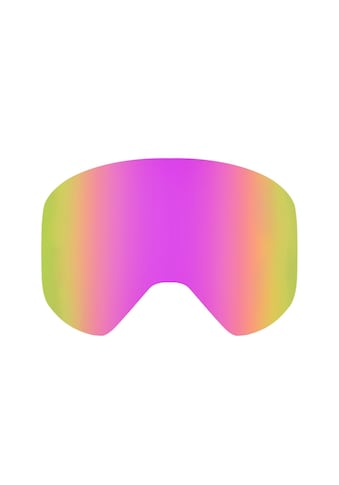 YEAZ Skibrille »APEX«, Magnetisches Wechselglas pink verspiegelt kaufen