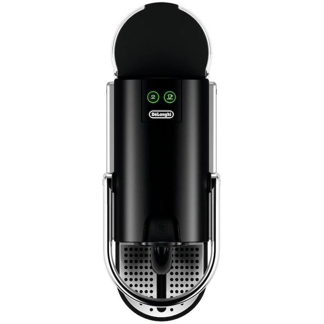 Nespresso Kapselmaschine De'Longhi Pixie EN 124.S, nur 11 cm breit mit Seitenteilen aus recycelten Nespressokapseln