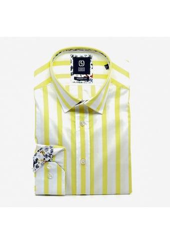 GABANO Langarmhemd, mit Streifenmuster kaufen