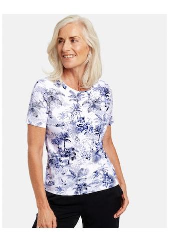 GERRY WEBER T - Shirt 1/2 Arm »1/2 Arm Shirt mit Palmenprint« kaufen