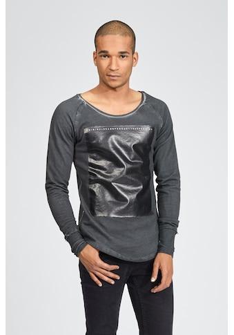 trueprodigy Sweatshirt »Duma«, mit Gloss-Print in Vintage-Optik kaufen