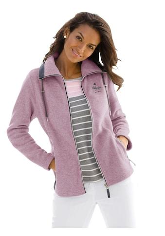 Casual Looks  Fleece - Jacke mit durchgehendem Reißverschluss kaufen
