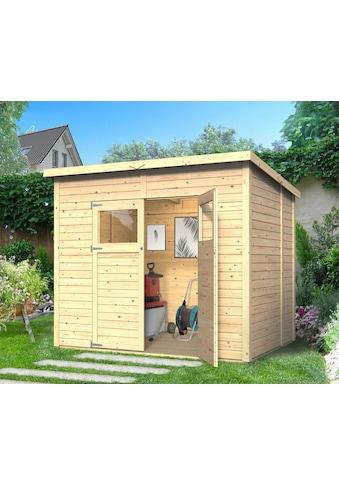 KONIFERA Gartenhaus »Amrum 3«, BxT: 251x199 cm, inkl. Fußboden kaufen