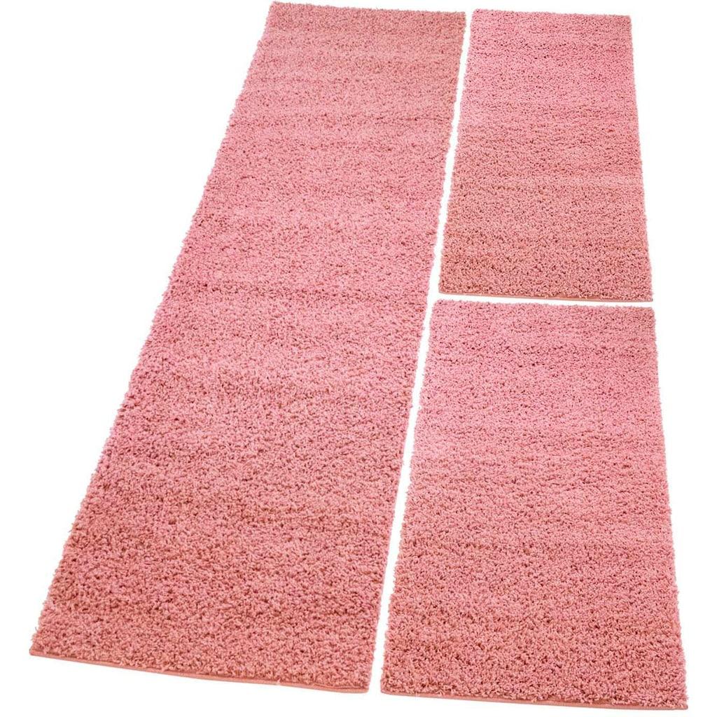 Carpet City Bettumrandung »Pastell Shaggy 300«