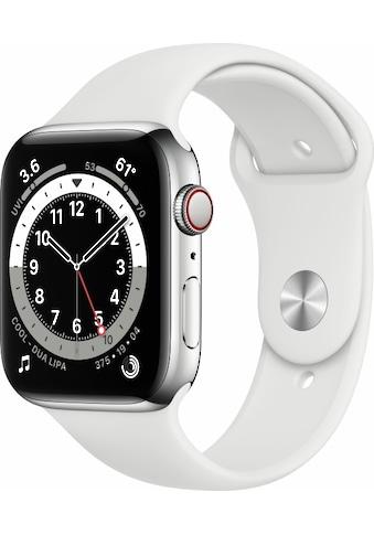 Apple Smartwatch »Apple Watch Series 6 GPS + Cellular, Aluminium Gehäuse, 40 mm mit... kaufen