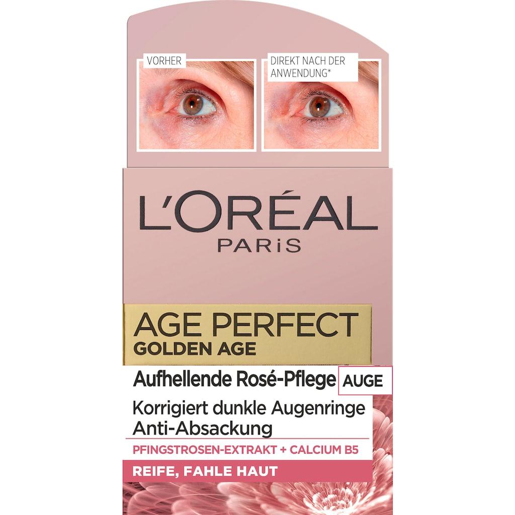 L'ORÉAL PARIS Augencreme »Age Perfect Golden Age Rosé«