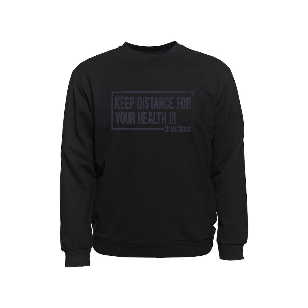 AHORN SPORTSWEAR Sweatshirt, mit Statement-Print