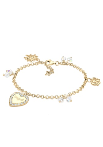 Elli Armband »Bettelarmband Wiesn Kristalle Silber« kaufen