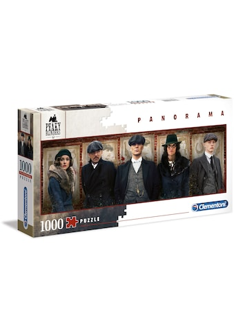 Clementoni® Puzzle »Panorama Special Series Collection - Peaky Blinders«, Made in Europe kaufen