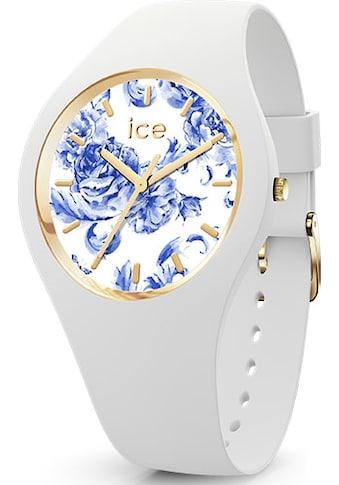 ice-watch Quarzuhr »ICE blue - White porcelain - Medium - 3H, 19227« kaufen