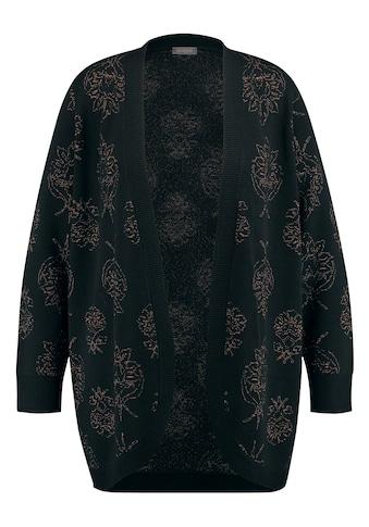 Samoon Cardigan »Strickjacke mit glanzvollem Jacquard« kaufen