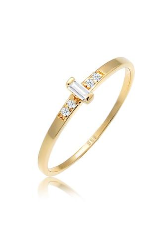 Diamore Diamantring »Verlobung Topas Diamant (0.02 ct.) 585 Gelbgold« kaufen