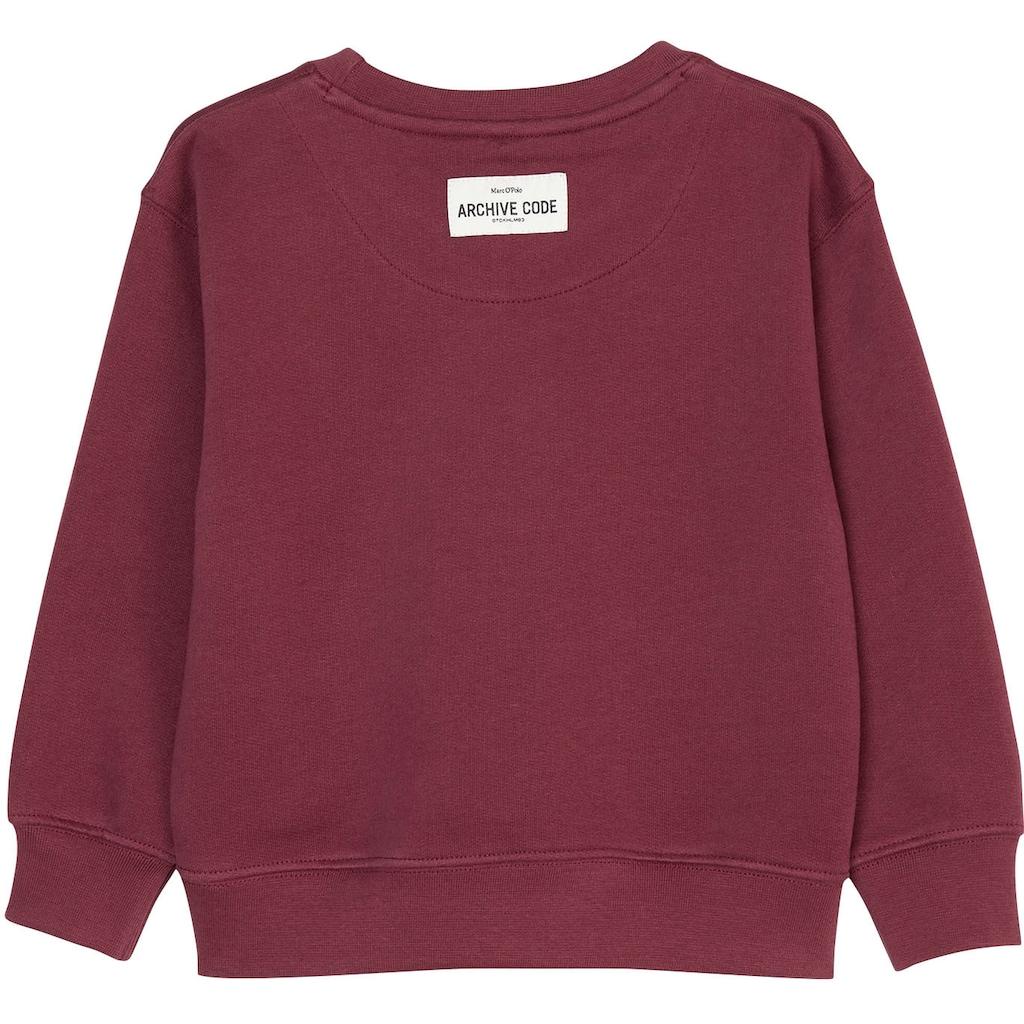 Marc O'Polo Junior Sweatshirt, mit Logo
