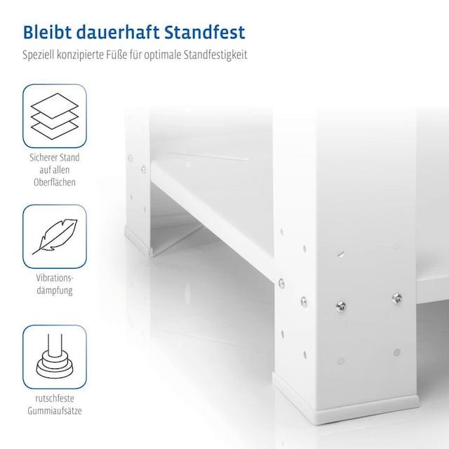 Xavax Sockel Unterbausockel Untergestell 60 x 60 x 40cm »für Waschmaschinen u. Trockner«