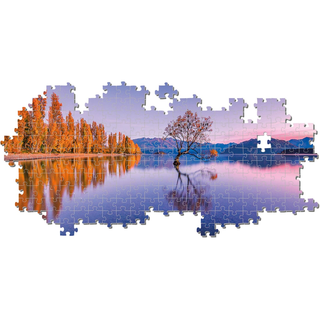 Clementoni® Puzzle »Panorama High Quality Collection - Lake Wanaka Tree«, Made in Europe, FSC® - schützt Wald - weltweit