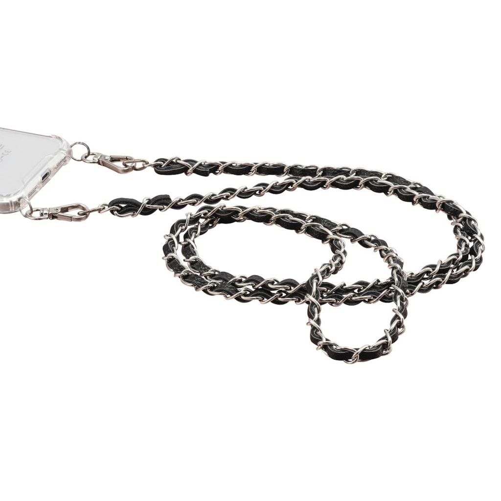 Hama Cross Body Band Handykette aus Kunstleder/ Metall für Cover