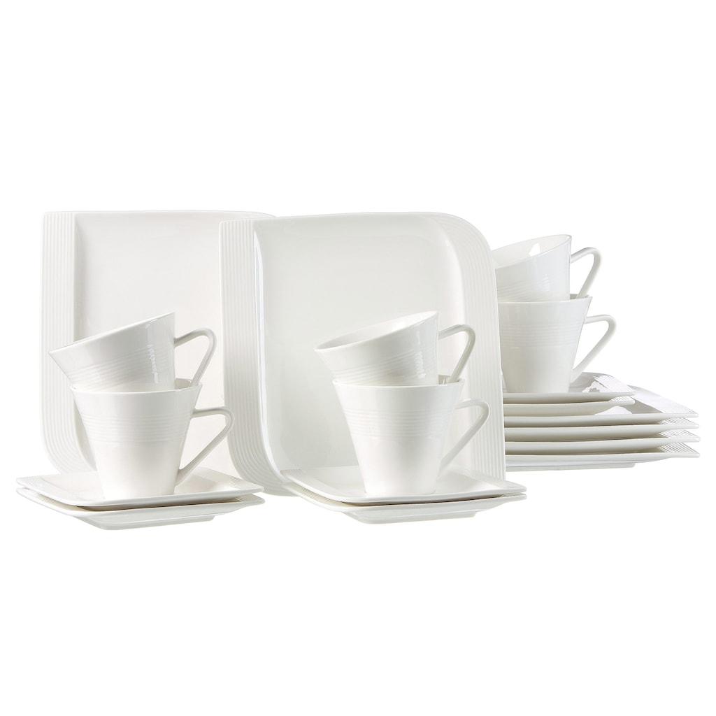 Ritzenhoff & Breker Kaffeeservice »Levanto«, (Set, 18 tlg.), Mikrowellengeeignet