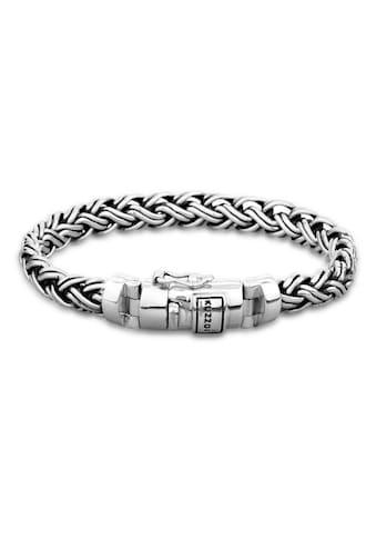 Kuzzoi Armband »Herren Panzer Glieder Kastenverschluss 925 Silber« kaufen