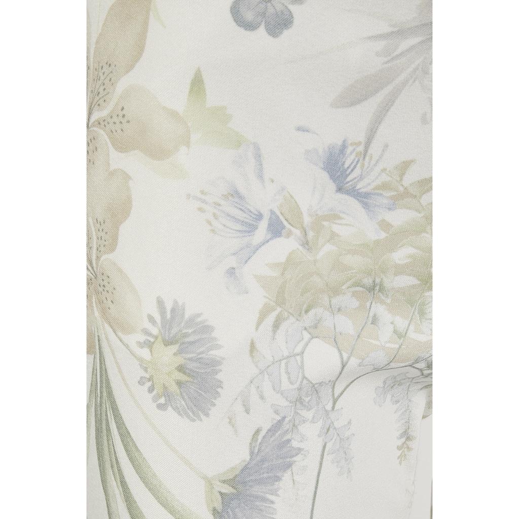 ANGELS Caprijeans,Anacapri' mit floralem Muster