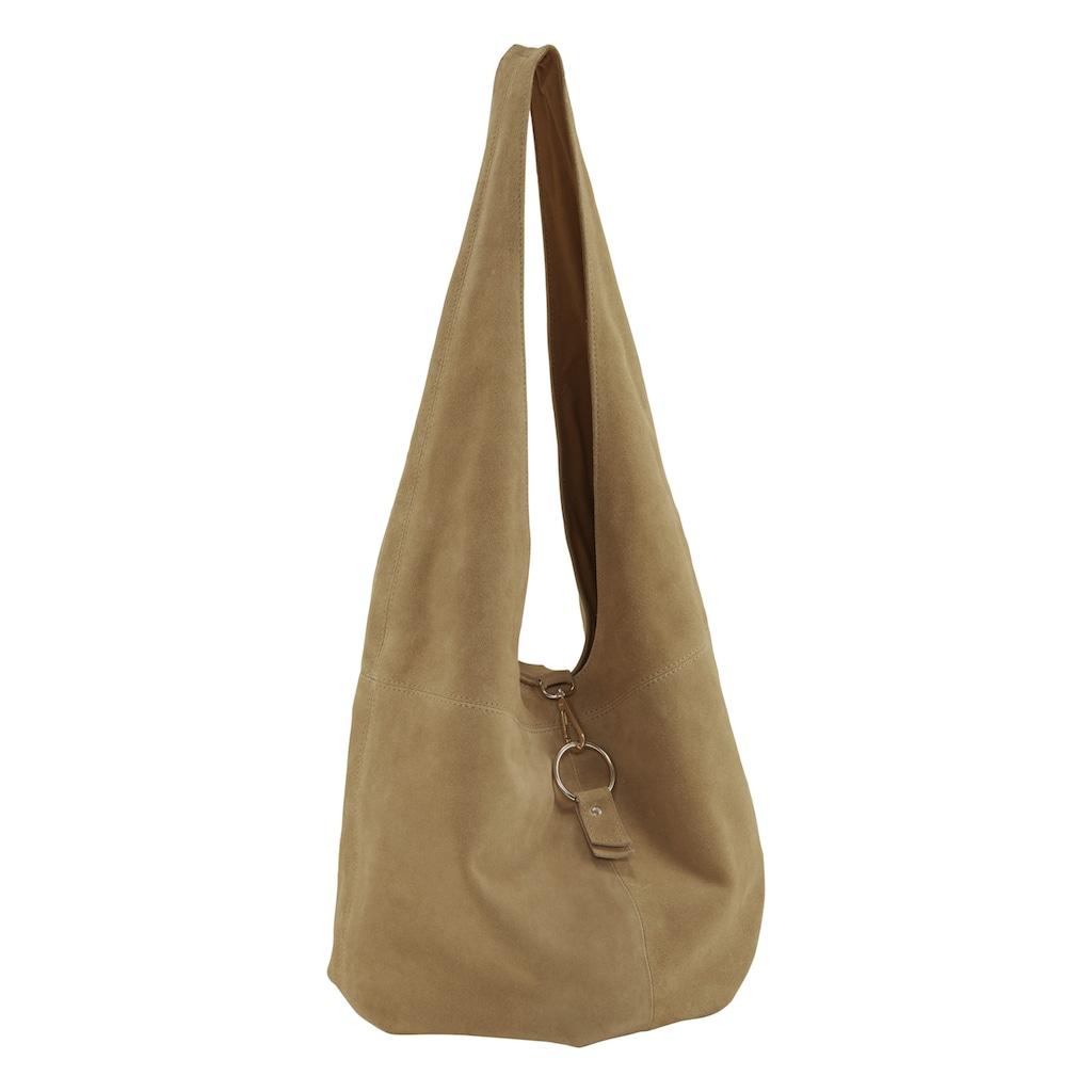 Tasche mit Metallschließe