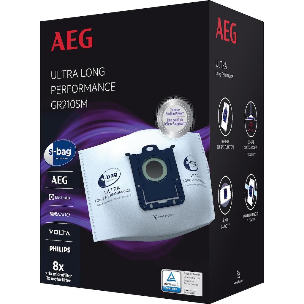AEG Staubsaugerbeutel »s-bag Megapack für AEG VX9 GR210SM«, 5 Liter Füllmenge