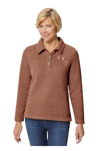 Classic Basics Winter - Shirt mit Stickerei kaufen