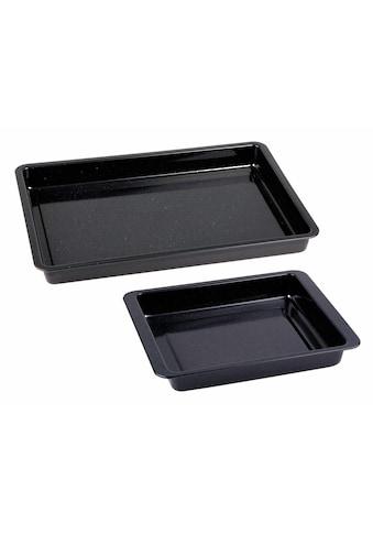 CHG Backblech, Emaille-Stahlblech, (Set, 2 St.) kaufen