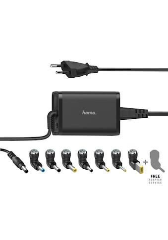 Hama Universal - Notebook - Netzteil, 15 - 19V/65W »8 Notebookstecker« kaufen