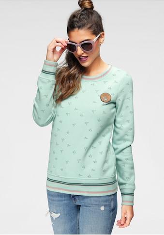 Ocean Sportswear Sweatshirt, mit Lederimitatbadge kaufen