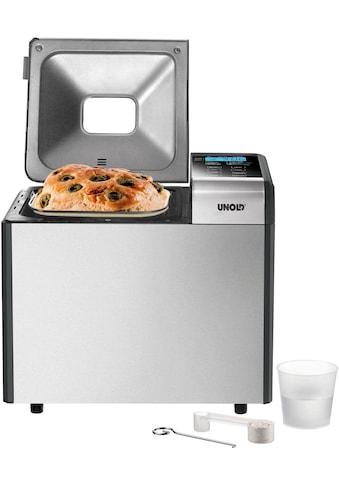 Unold Brotbackautomat Backmeister® Top Edition 68415, 12 Programme, 615 Watt kaufen