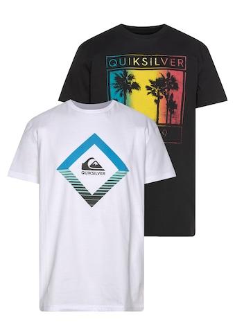 Quiksilver T-Shirt »XKKW PALM MIRAGE SS TEE PACK« kaufen