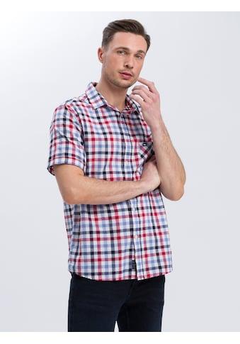 Cross Jeans® Kurzarmhemd »35381«, Kariertes Freizeithemd kaufen
